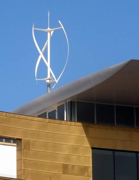 home vertical-axis wind turbine